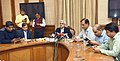 The Secretary, Department of Economic Affairs, Shri Shaktikanta Das addressing the press conference, in New Delhi on November 17, 2016.jpg