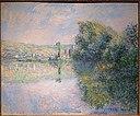 The Seine at Vetheuil, by Claude Monet, c. 1880, oil on canvas - Portland Museum of Art - Portland, Maine - DSC03977.jpg