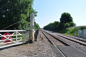 Spinks Lane railway station - Image: The Site of Spinks Lane Station geograph.org.uk 1929567