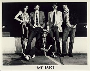 The Specs - Clockwise from left: band members Sara Kovanda, Rick Morris, Matthew Sweet, Don Holmquist, David Snider