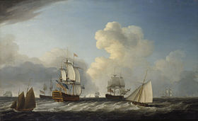 Image illustrative de l'article HMS St George (1785)