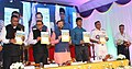 The Union Minister for Human Resource Development, Shri Prakash Javadekar launching the Physical Health and Fitness Profile Card, as part of the Swasth Bachche, Swasth Bharath Programme, in Kochi on August 21, 2017.jpg