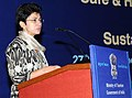 """The Union Minister for Tourism & Housing and Urban Poverty Alleviation, Kum. Selja addressing at the signing ceremony of the Pledge for commitment towards """"Safe and Honourable Tourism"""" and """"Sustainable Tourism"""", in New Delhi.jpg"""
