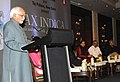 "The Vice President, Shri Mohd. Hamid Ansari addressing at the launch of a book entitled ""Pax Indica India and the World of the 21st Century"", written by Shri Shashi Tharoor, MP, in New Delhi on July 11, 2012.jpg"