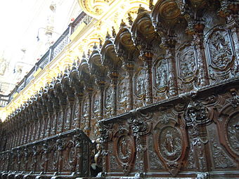 The Woodwork in the Choir in la Mezquita.JPG
