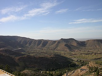 Jabal al Gharbi District - Image: The breath taking views from Gharyan Libya