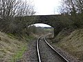 The bridge over the railway - geograph.org.uk - 728860.jpg