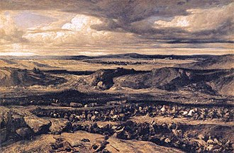 Cimbrian War - The Defeat of the Cimbri, by Alexandre Gabriel Décamps