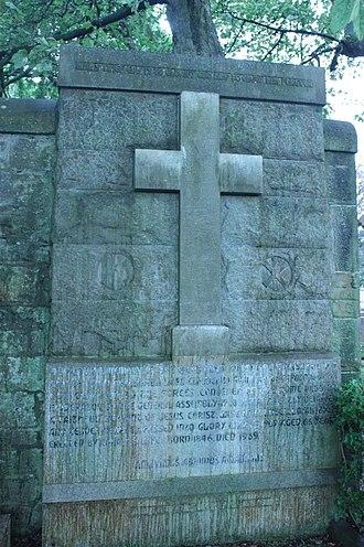 Theodore Marshall - The grave of Rev Theodore Marshall, Dean Cemetery, Edinburgh