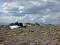 The summit cairns of Beinn Bhrotain - geograph.org.uk - 494693.jpg