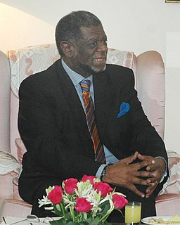 Theo-Ben Gurirab 2nd Prime Minister of Namibia