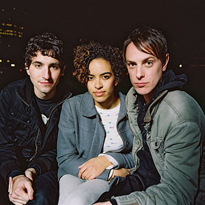 The Thermals - The Thermals current line-up (left to right): Westin Glass, Kathy Foster and Hutch Harris