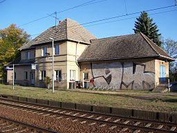 Thießen Bahnhof