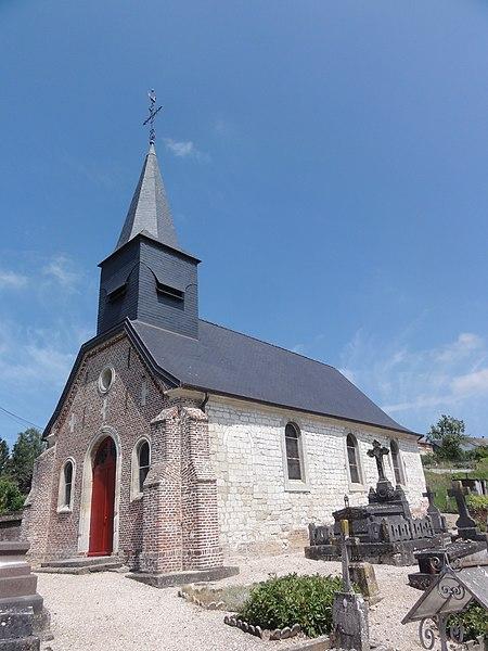 Thiernu (Aisne) église