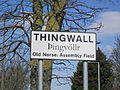 Thingwall sign, Pensby Road, Wirral.JPG