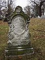 Thomas B Hamilton monument, Allegheny Cemetery, 2014-12-03, 01.jpg