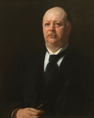 Thomas Brackett Reed - Portrait of Speaker Reed by John Singer Sargent, Collection of the U.S. House of Representatives.