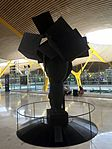 Three Ladies of Barajas (2004) by Manolo Valdés - Terminal 4 - 1.JPG