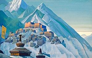 Roerich N.K. Tibet. Himalayas. 1933. Tempera o...