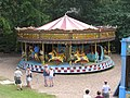 Tidman, Norwich 3-abreast steam gallopers (c1912) Hollycombe, Liphook 3.8.2004 P8030032 (10353792564).jpg