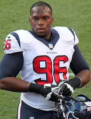Tim Jamison - Jamison with the Houston Texans