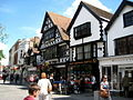 Timber-framed buildings in Fore Street Taunton - geograph.org.uk - 1421037.jpg