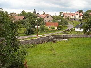 Tisovec (Chrudim District) Village in Chrudim county of Pardubice region