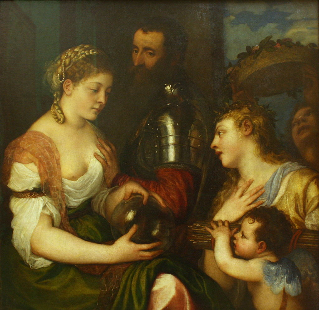 Titien - Conjugal allegory - Louvre