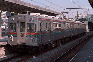 こどもの国線専用編成(1998年撮影)