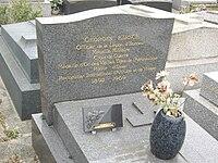 Tombe Georges Kirsch, Cimetière de Montrouge.jpg