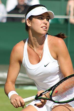 Ajla Tomljanović - Tomljanović at the 2015 Wimbledon Championships