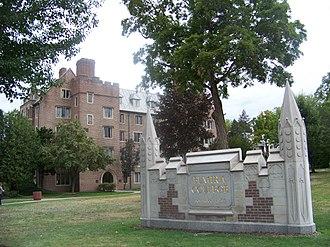 Elmira College Old Campus - Image: Tompkins Hall
