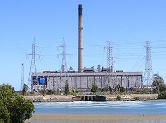 Torrens Island, South Australia - Torrens Island power station.