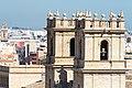 Torres campanario de la iglesia de San Miguel de los Reyes 01.jpg