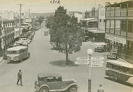 Byron Street, Inverell. Undated Town of Inverell.jpg