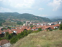 Panorama view of the city.