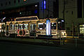 Toyama Chiho Railway 8000 series tramcar celebrating 100 years of tram service in Toyama.jpg