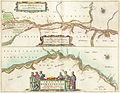 Tractus Borysthenis vulgo Dniepr et Niepr Dicti, à Kiovia ufque ad Bouzin, Willem Blaeu (Amsterdam, 1662).jpg