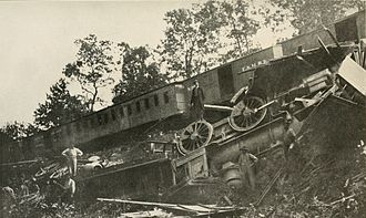 Manassas Station Operations (Stonewall Jackson) - Train derailed by Confederate cavalry on August 26, 1862, during the Manassas Station Operations.