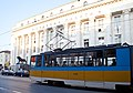 Tram in Sofia near Palace of Justice 2012 PD 037.jpg