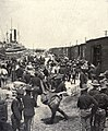 Transferring US Army stores from train to transports, 1898.jpg