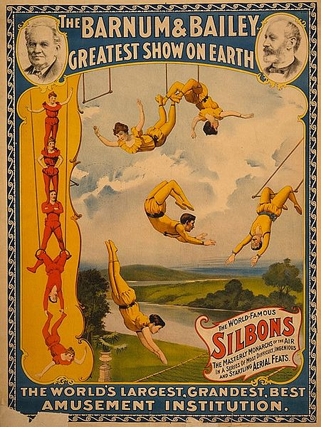 File trapeze artists barnum bailey for Circus posters free