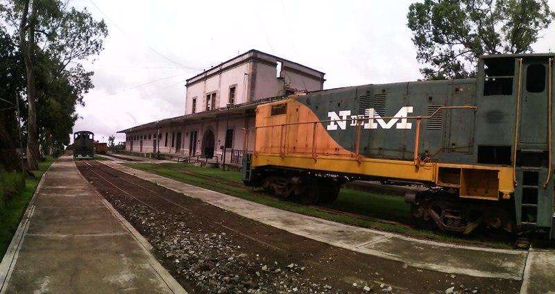 El patrimonio ferrocarrilero de Teziutlán está compuesto por una antigua estación.