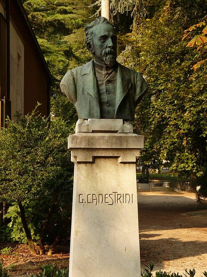Bust of Giovanni Canestrini
