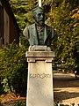Trento-Andrea Malfatti-bust of Giovanni Canestrini.jpg