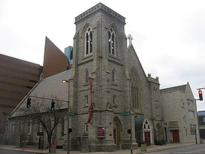 Trinity Episcopal Church (Toledo, Ohio) - Front and western side