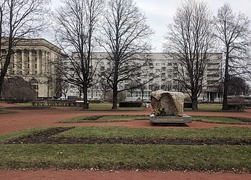 Trinity Square of the Petrograd Side, Solovetsky Stone, House of Tsarist Political Prisoners.jpg