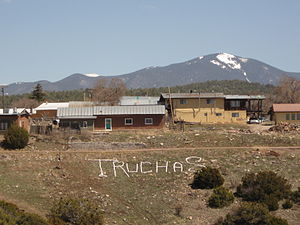 Truchas, New Mexico - Truchas in 2010