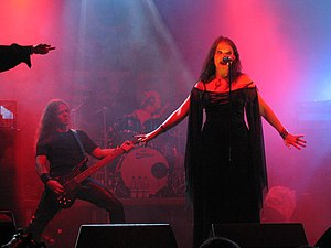 Gothic metal - Gothic metal band Tristania