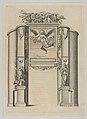 Triumphal arch, from 'Éloges et discours sur la triomphante réception du Roy en sa ville de Paris ...' by Jean-Baptiste de Machault MET DP855536.jpg